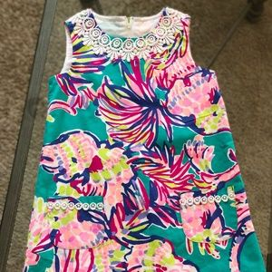 Lilly Pulitzer Classic Girl's Shift Dress